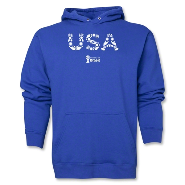 USA 2014 FIFA World Cup Brazil(TM) Men's Elements Hoody (Royal)