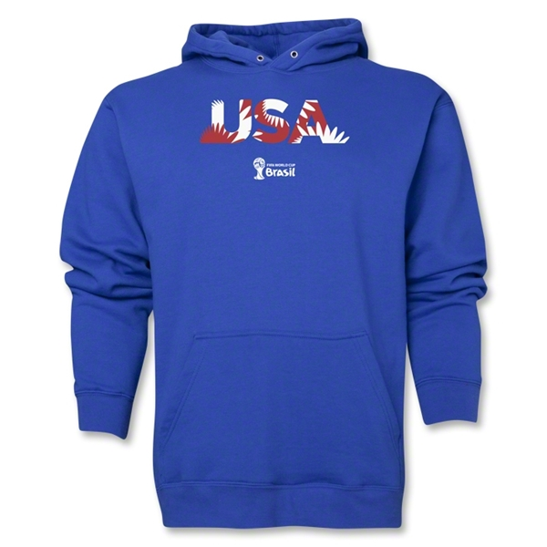 USA 2014 FIFA World Cup Brazil(TM) Men's Palm Hoody (Royal)
