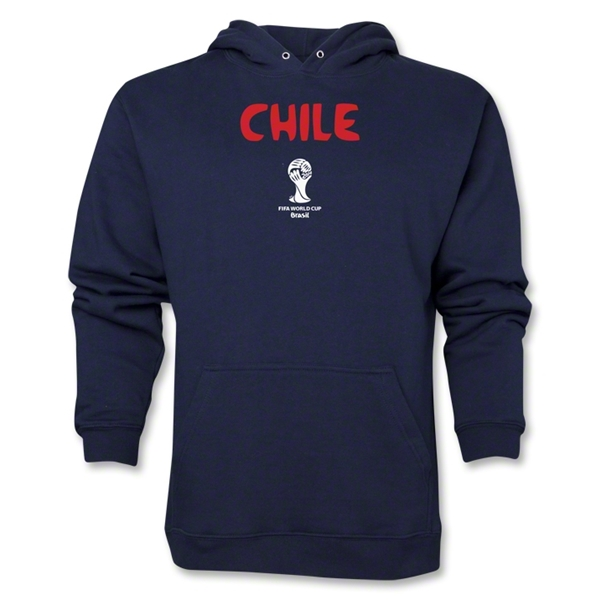 Chile 2014 FIFA World Cup Brazil(TM) Men's Core Hoody (Navy)