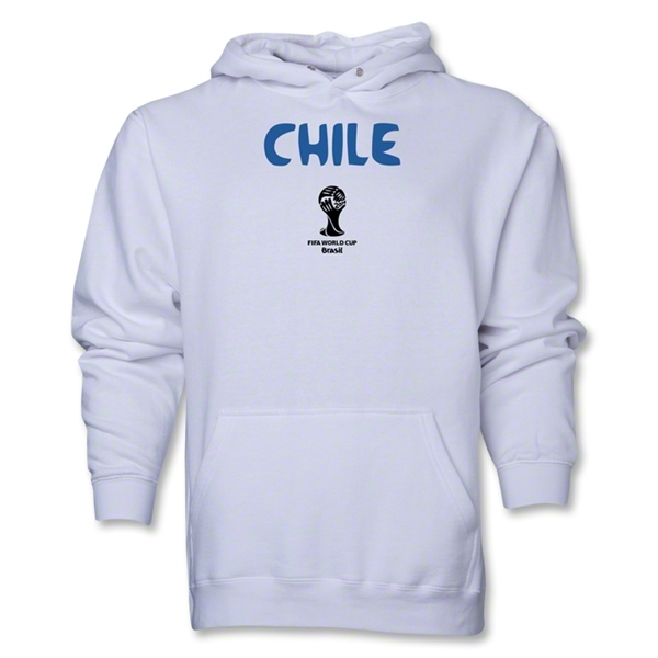 Chile 2014 FIFA World Cup Brazil(TM) Men's Core Hoody (White)