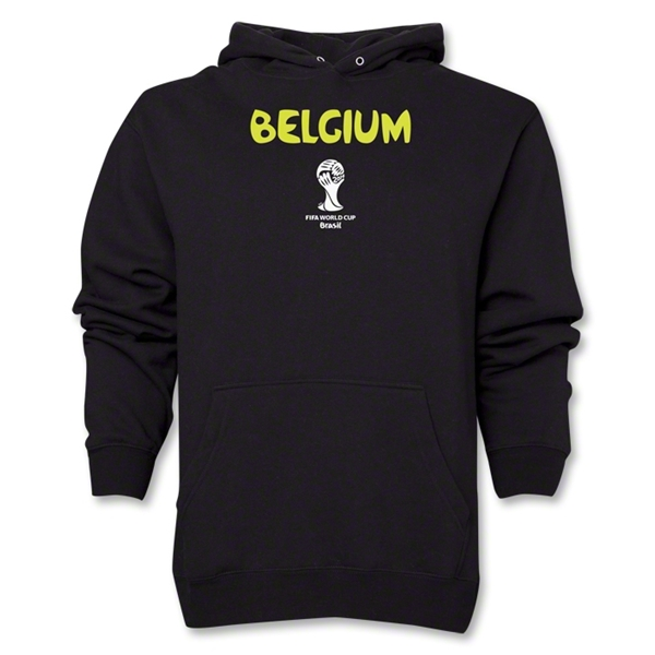 Belgium 2014 FIFA World Cup Brazil(TM) Men's Core Hoody (Black)