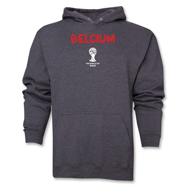 Belgium 2014 FIFA World Cup Brazil(TM) Men's Core Hoody (Dark Grey)