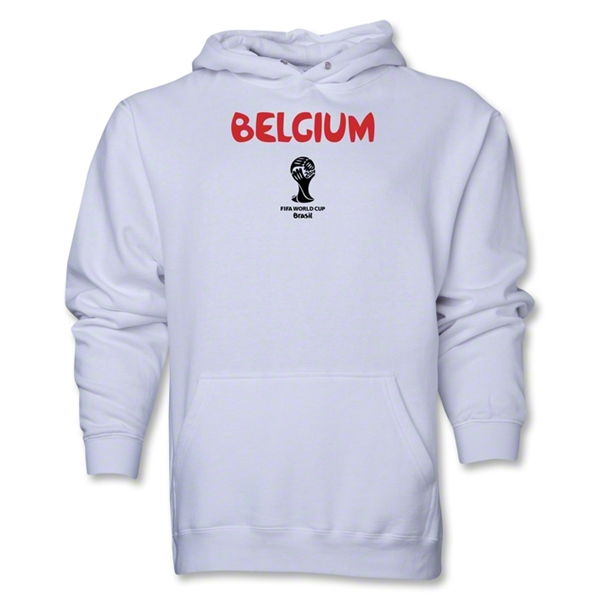 Belgium 2014 FIFA World Cup Brazil(TM) Men's Core Hoody (White)