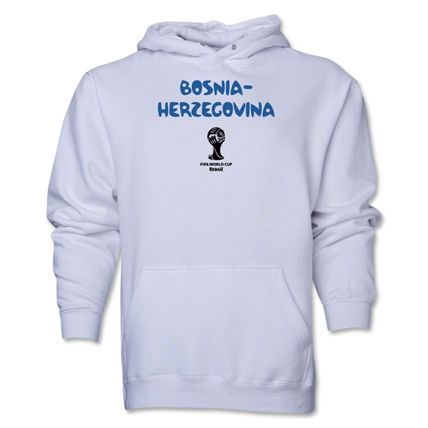 Bosnia-Herzegovina 2014 FIFA World Cup Brazil(TM) Men's Core Hoody (White)
