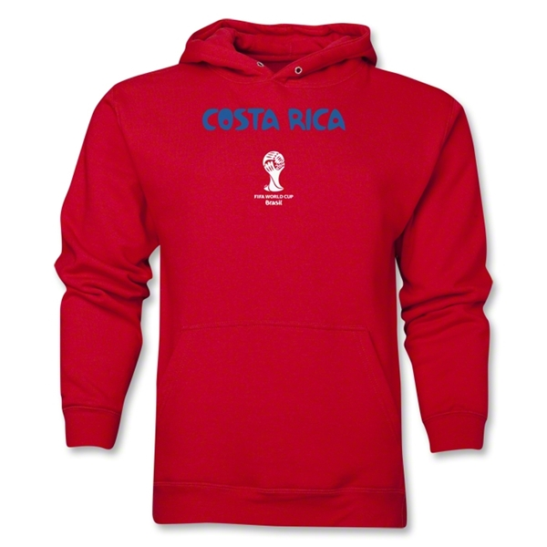 Costa Rica 2014 FIFA World Cup Brazil(TM) Men's Core Hoody (Red)