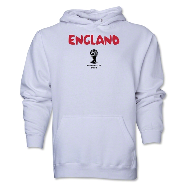 England 2014 FIFA World Cup Brazil(TM) Men's Core Hoody (White)