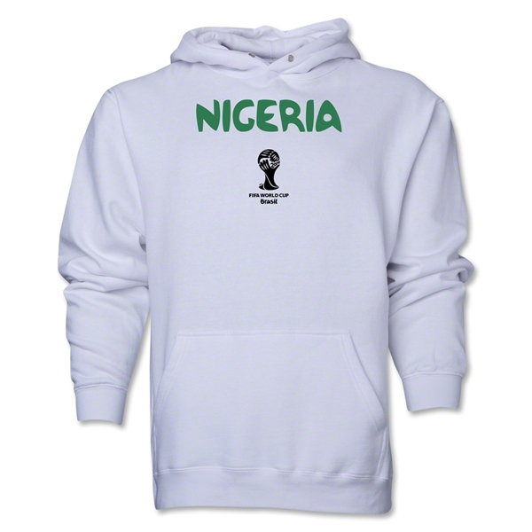 Nigeria 2014 FIFA World Cup Brazil(TM) Men's Core Hoody (White)