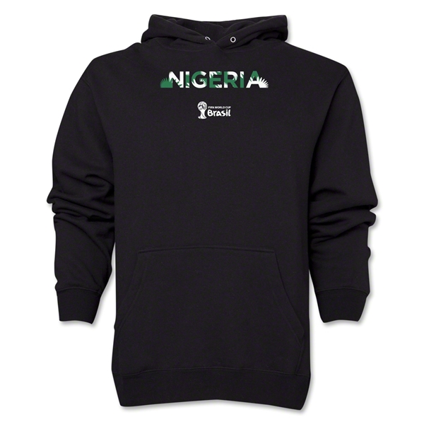 Nigeria 2014 FIFA World Cup Brazil(TM) Men's Palm Hoody (Black)