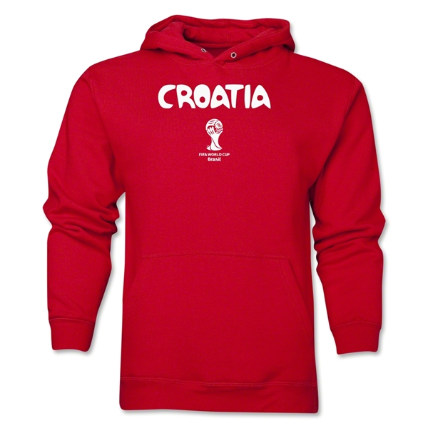 Croatia 2014 FIFA World Cup Brazil(TM) Men's Core Hoody (Red)