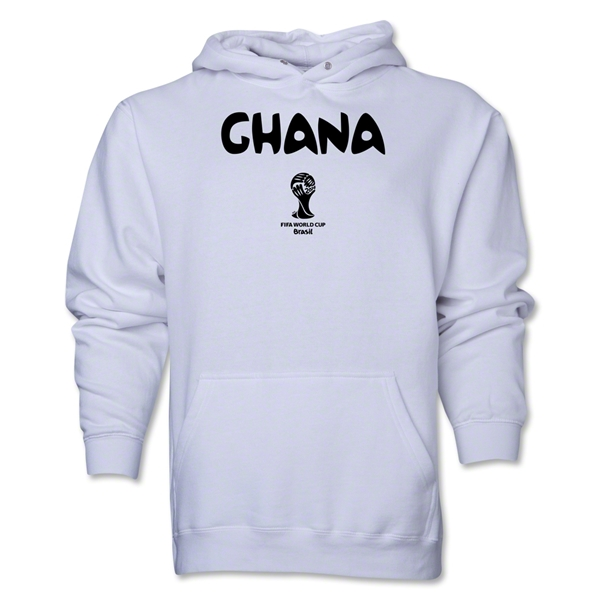 Ghana 2014 FIFA World Cup Brazil(TM) Men's Core Hoody (White)