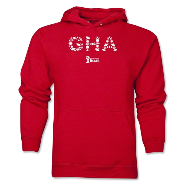 Ghana 2014 FIFA World Cup Brazil(TM) Men's Elements Hoody (Red)