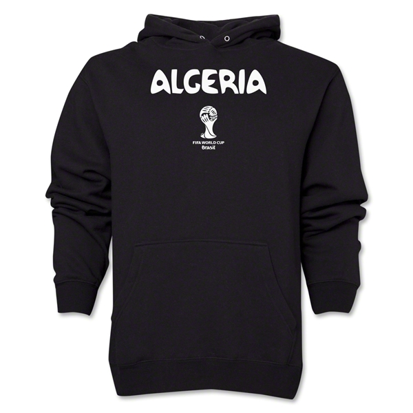 Algeria 2014 FIFA World Cup Brazil(TM) Men's Core Hoody (Black)