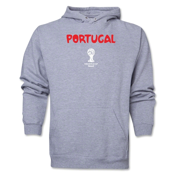 Portugal 2014 FIFA World Cup Brazil(TM) Men's Core Hoody (Ash)