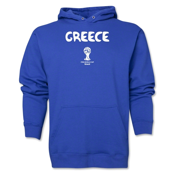 Greece 2014 FIFA World Cup Brazil(TM) Men's Core Hoody (Royal)