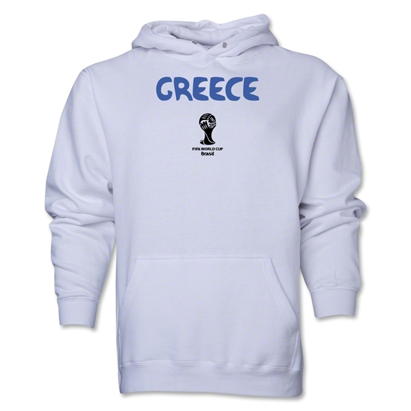Greece 2014 FIFA World Cup Brazil(TM) Men's Core Hoody (White)