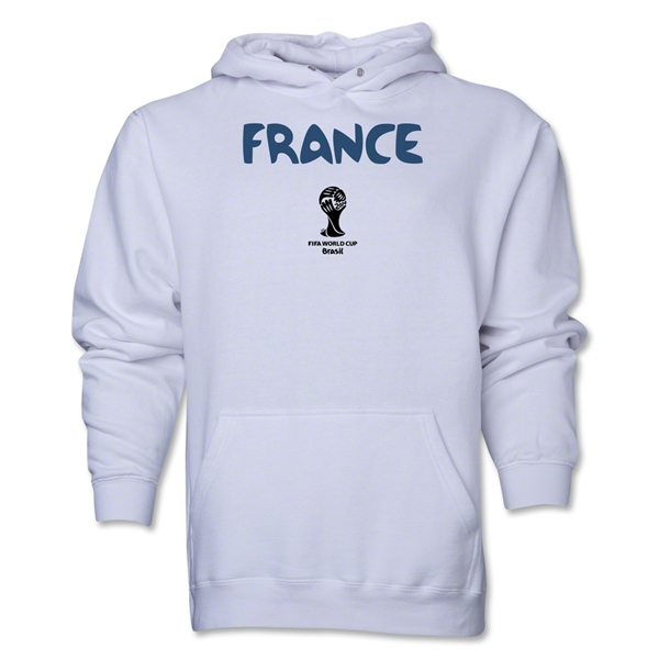 France 2014 FIFA World Cup Brazil(TM) Men's Core Hoody (White)
