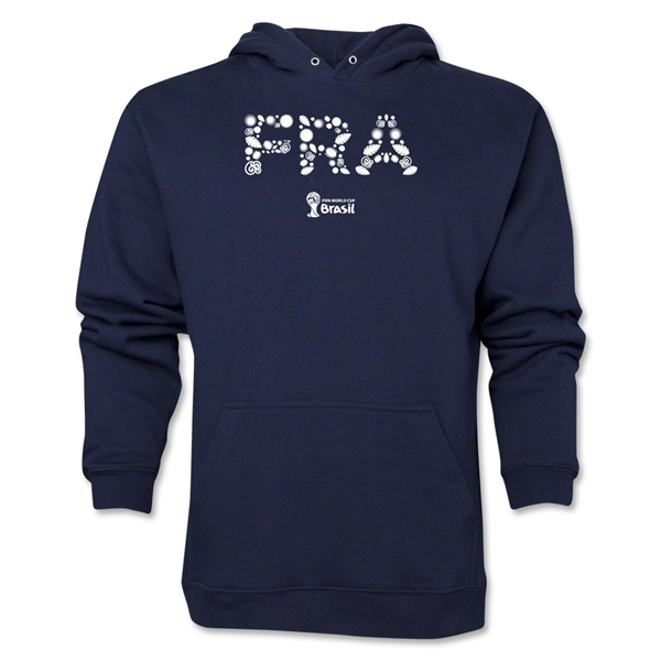 France 2014 FIFA World Cup Brazil(TM) Men's Elements Hoody (Navy)