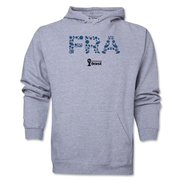 France 2014 FIFA World Cup Brazil(TM) Men's Elements Hoody (Ash Gray)