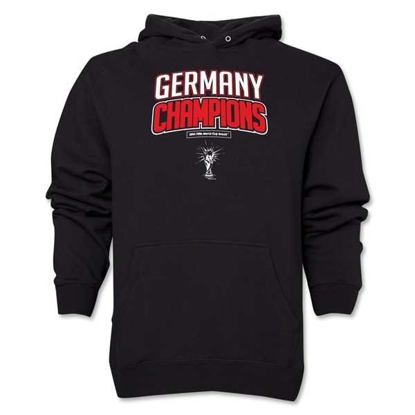 Germany 2014 FIFA World Cup Brazil(TM) Champions Logotype Hoody (Black)