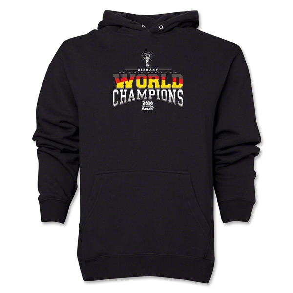 Germany 2014 FIFA World Cup Brazil(TM) World Champions Hoody (Black)