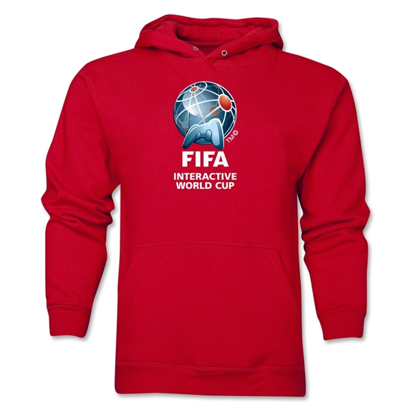 FIFA Interactive World Cup Core Emblem Hoody (Red)