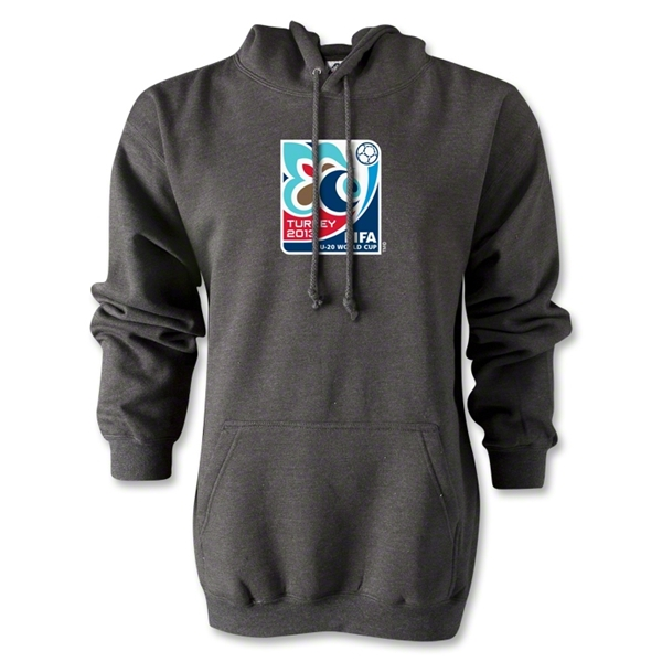 FIFA U-20 World Cup Turkey 2013 Emblem Hoody (Dark Gray)