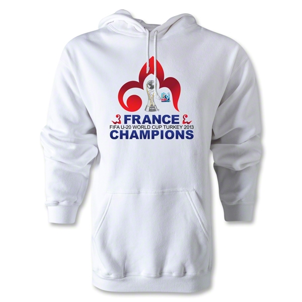 France FIFA U-20 World Cup 2013 Winners Hoody (White)