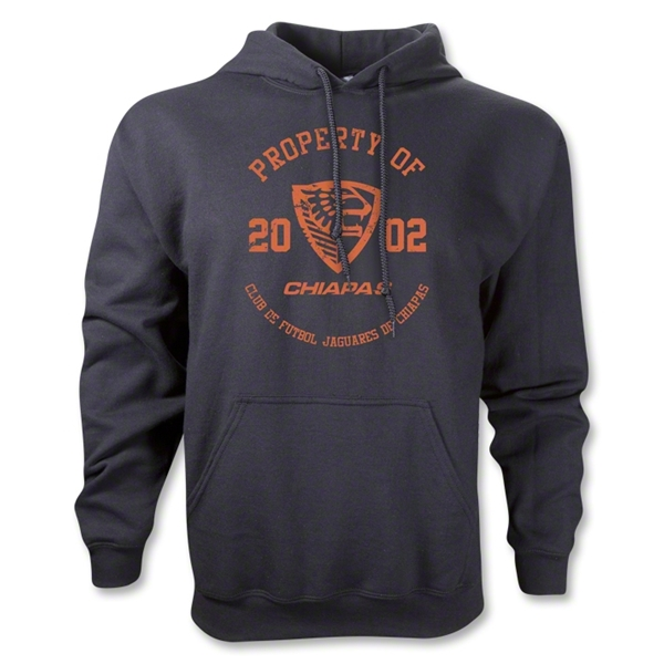 Jaguares de Chiapas Distressed Property Hoody (Black)