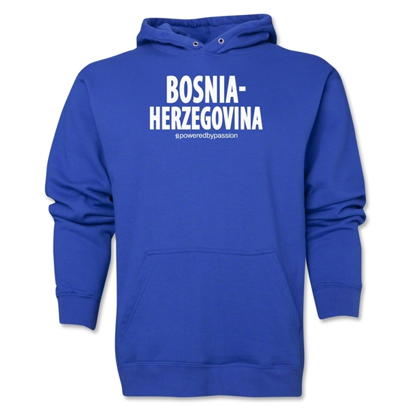 Bosnia-Herzegovina Powered by Passion Hoody (Royal)