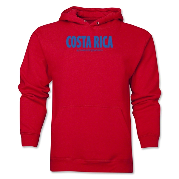 Costa Rica Powered by Passion Hoody (Red)