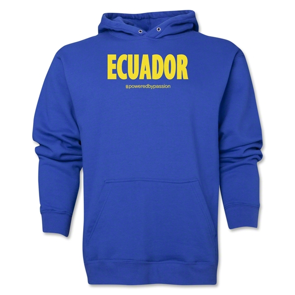 Ecuador Powered by Passion Hoody (Royal)