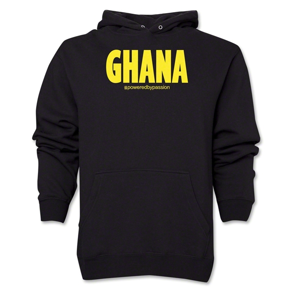 Ghana Powered by Passion Hoody (Black)