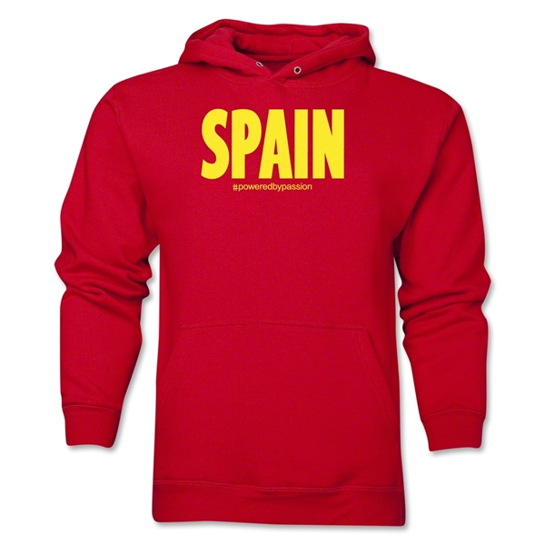 Spain Powered by Passion Hoody (Red)