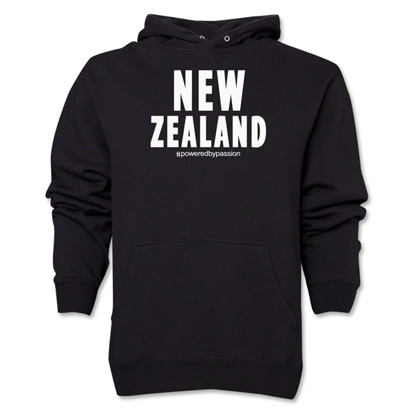 New Zealand Powered by Passion Hoody (Black)