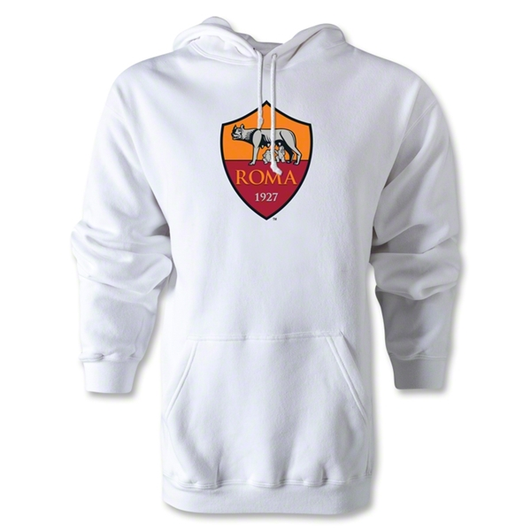 AS Roma Crest Hoody (White)