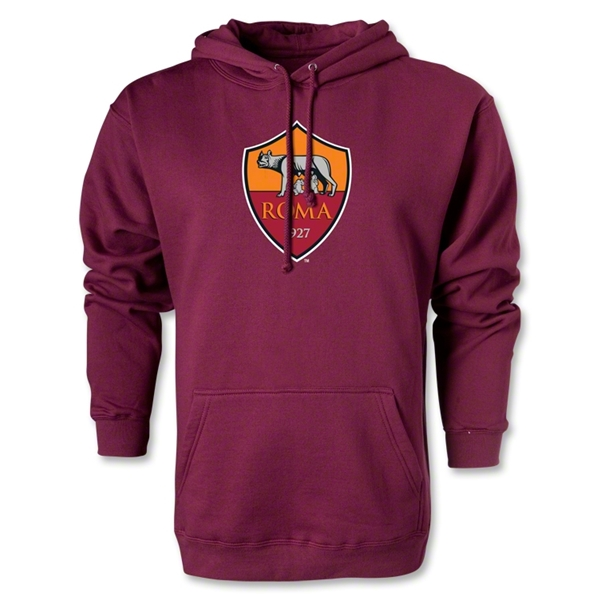 AS Roma Crest Hoody (Maroon)
