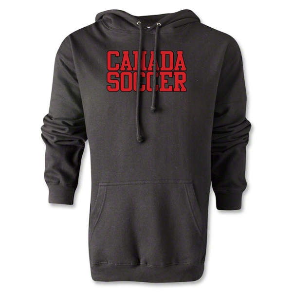 Canada Soccer Supporter Hoody (Black)