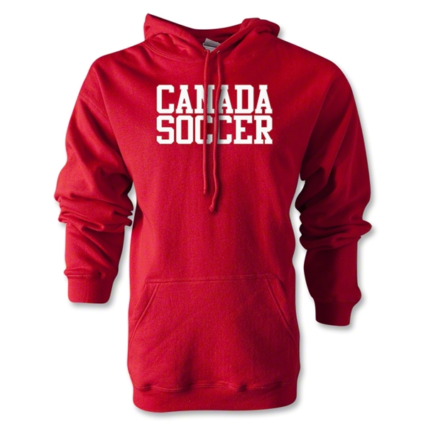 Canada Soccer Supporter Hoody (Red)
