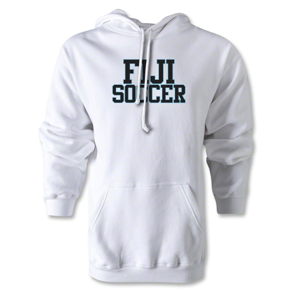 Fiji Soccer Supporter Hoody (White)