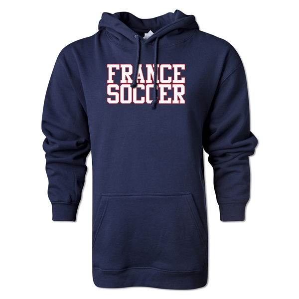 France Soccer Supporter Hoody (Navy)