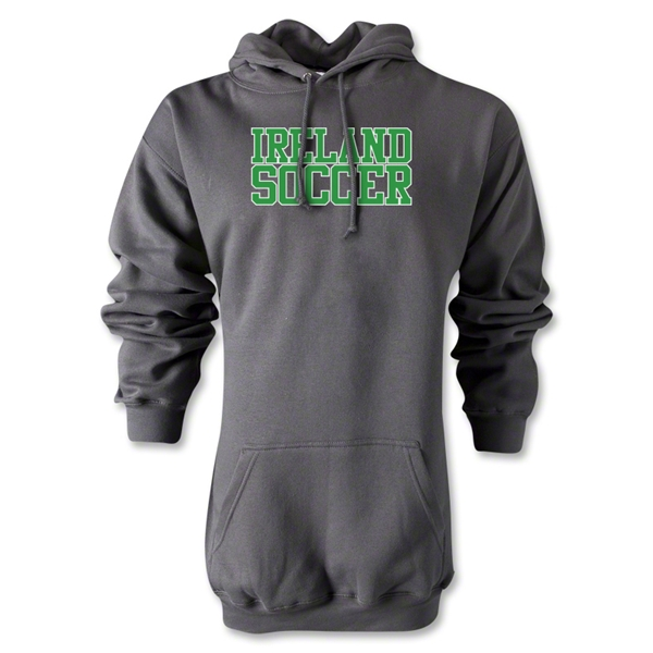 Ireland Soccer Supporter Hoody (Gray)