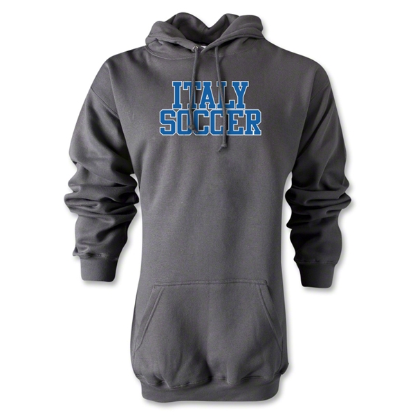 Italy Soccer Supporter Hoody (Gray)