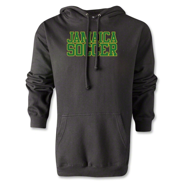 Jamaica Soccer Supporter Hoody (Black)