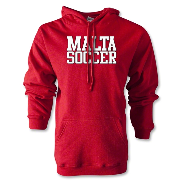 Malta Soccer Supporter Hoody (Red)