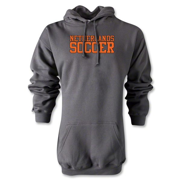 Netherlands Soccer Supporter Hoody (Gray)