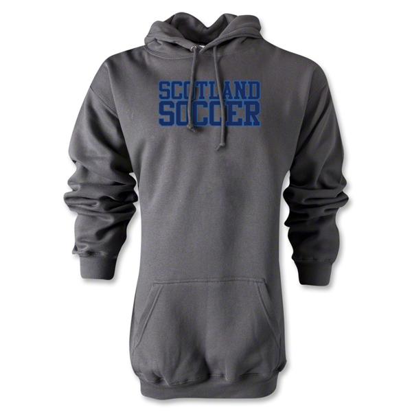 Scotland Soccer Supporter Hoody (Gray)