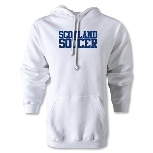 Scotland Soccer Supporter Hoody (White)