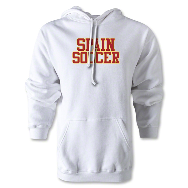 Spain Soccer Supporter Hoody (White)