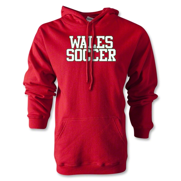 Wales Soccer Supporter Hoody (Red)