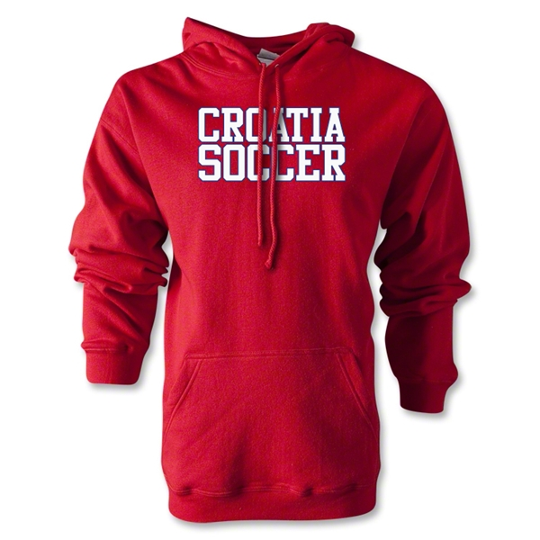 Croatia Soccer Supporter Hoody (Red)